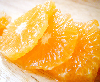 Sliced Clementines in Caramel