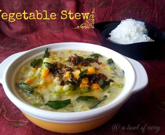 Vegetable Stew - Kerala Style