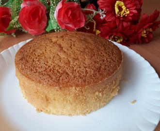 Basic vanilla sponge cake recipe