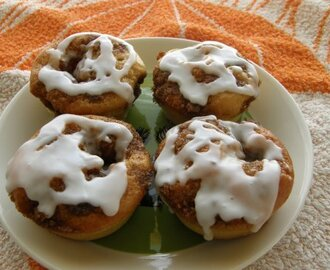 Quick and Easy Cinnamon Bun Muffins