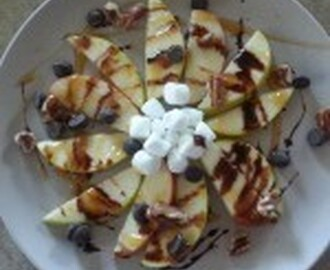 Apple Flower Nachos