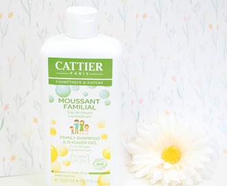Cattier Paris family shampoo & shower gel