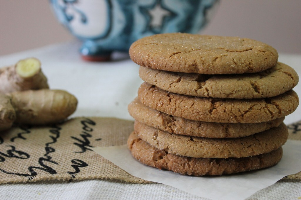 Five Spice Ginger Cookies