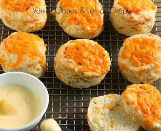 Cheese & Spring Onion Scones
