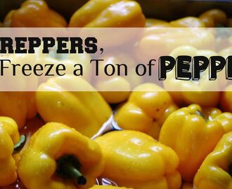 2 Sweet Ways to Preserve Sweet Peppers