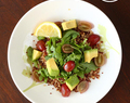 Quinoa and Arugula Salad Bowl