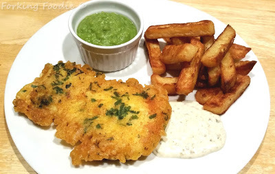Easy Battered Fish in a Tasty Lemon and Parsley Batter - Gluten Free (or normal)