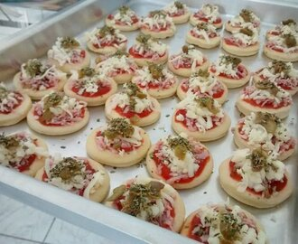 Massa Para Mini Pizza