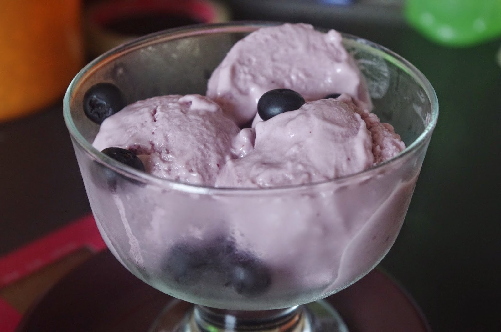 Blueberry Cheesecakes Frozen Yogurt