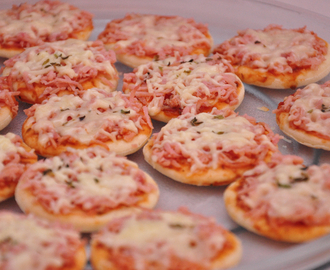 Mini Pizza, Receita.