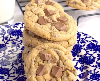 Brown Butter Milk Chocolate Chip Cookies