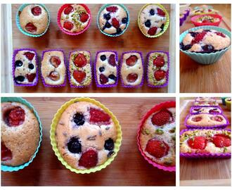 Post aus meiner Küche °2 - Very Berry Financiers