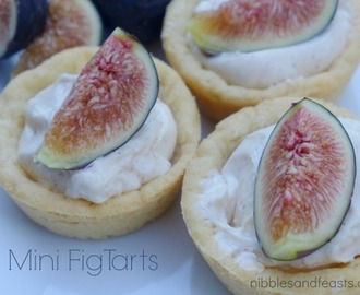 Mini Fig Tarts #LifeIsASpecialOccasion