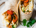 Veggie Packed Freezer-Friendly Breakfast Burritos | Ambitious Kitchen