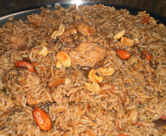 Al Kabsa / Traditional Spicy Arabian Chicken Rice Recipe