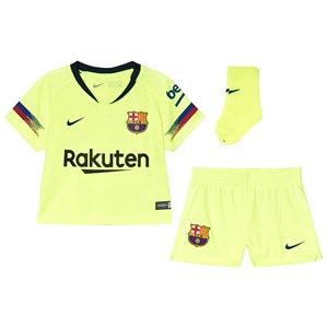 Barcelona FC Breathe FC Barcelona Borta Infants Set Gul 24-36 months