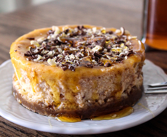New York Cheese cake vanille en karamel