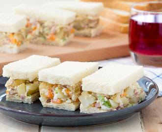 Breakfast Potato Salad Sandwich