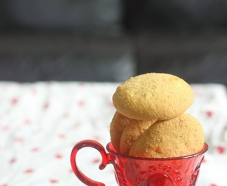 Butter Cookies/Indian Bakery Biscuits/Naankhatai And Valentine's Day Wishes
