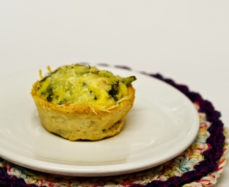 Mini Quiches de  Brócolis