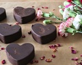 Valentines Goji Heart Chocolates