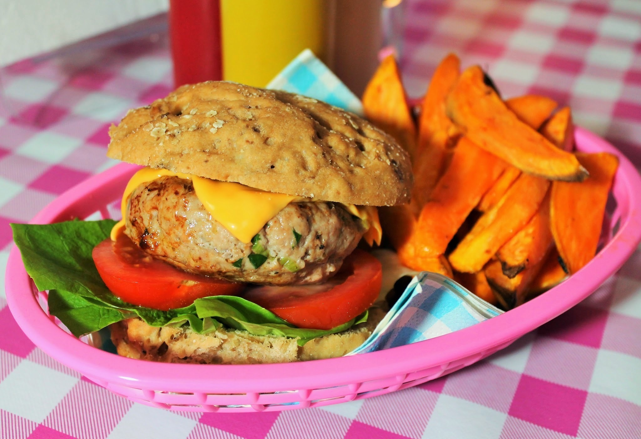 Homemade Pork Burgers Recipe