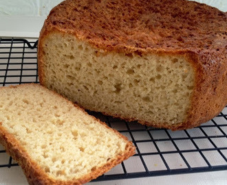 Crusty Gluten Free bread Recipe