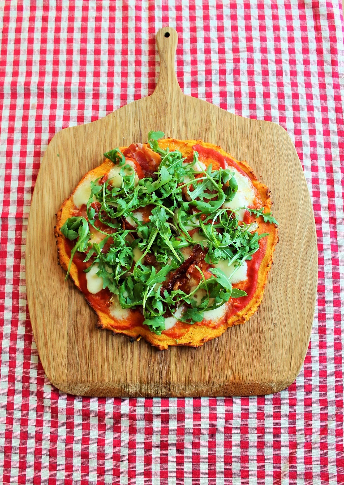 Gluten Free Sweet Potato Pizza Base