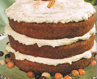 Coffee and Cream Cake Christmas Recipe