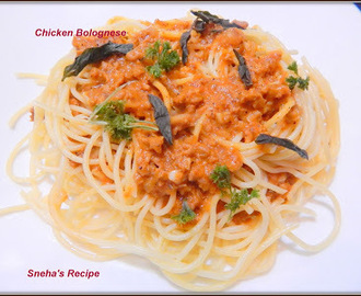 Chicken Bolognese#FantasticalFoodFight