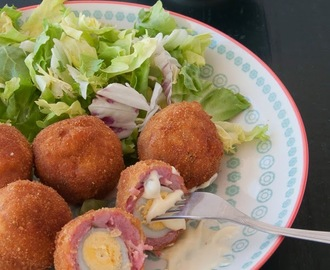 Huevos a la escocesa { Scotch Eggs}