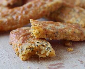 Gluten free cheese and poppy seed biscuit recipe