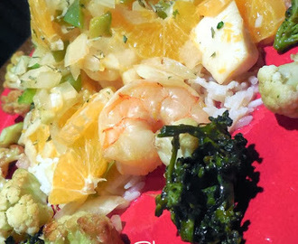 Shrimp, Scallops and Clementines en Papillote - Recipe