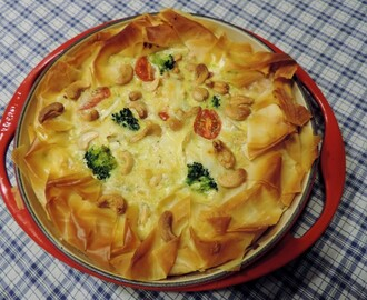 Broccoli-brie quiche; Lekker vegetarisch