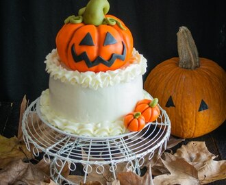 Layer cake de calabaza y nueces