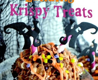 Crash Landing Krispie Treats~Quick and Easy Halloween Treat!!!