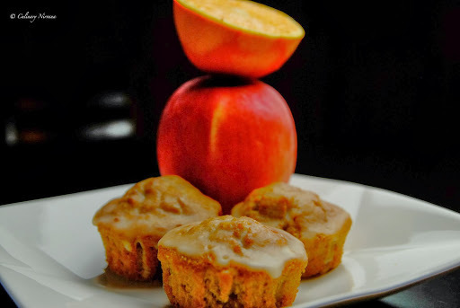 Apple-orange muffins
