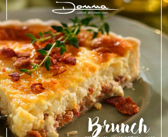 Domingo acontece o 1 Brunch do Donna!