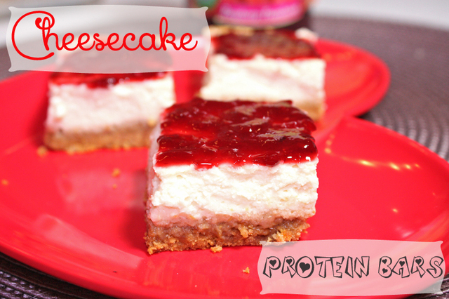 Cheesecake Protein Bars