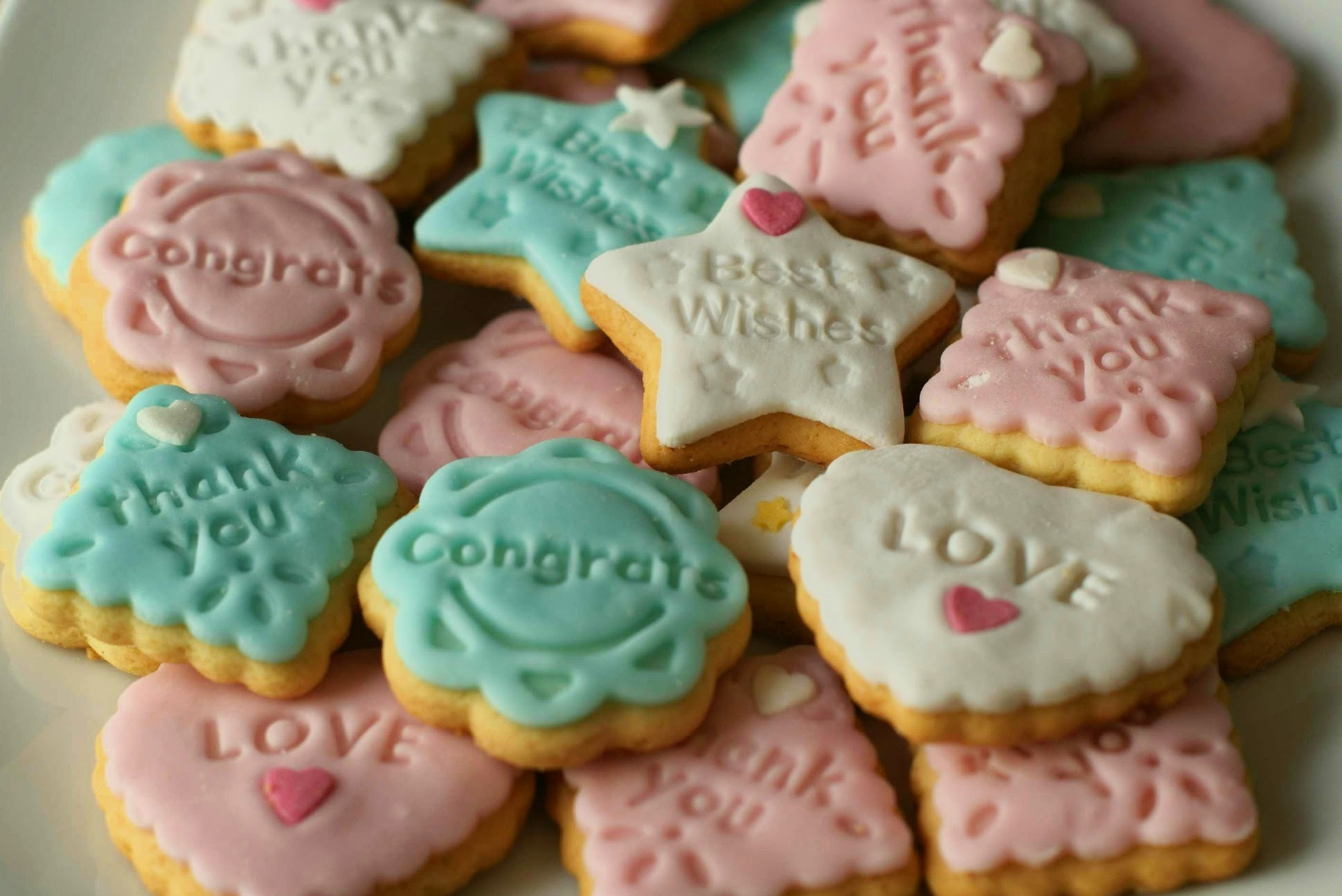 GALLETITAS DECORADAS CON FONDANT