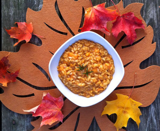 Savory Maple and Sweet Potato Risotto