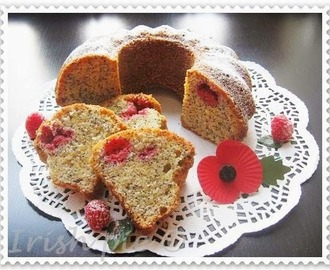 Poppy Seeds Cake on Remembrance Day
