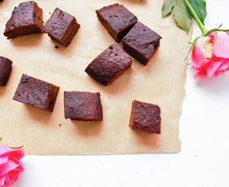 Sweet Potato Brownies Recipe - Free From Baking with Holland & Barrett