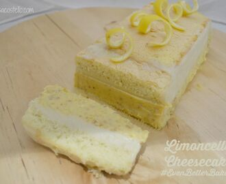 Limonello Cheesecake #EvenBetterBaking with Dr. Oetker