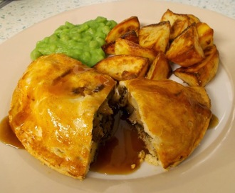 Lamb and potato pasties - oh yes please!