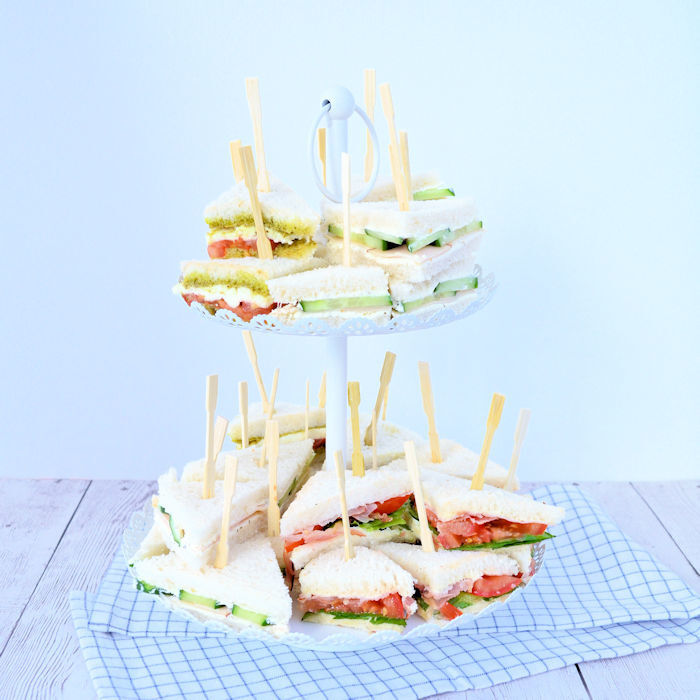 3x High Tea sandwiches