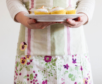 Vegan Lemon Meringue Cupcakes + Vote & Win with Laura Ashley!