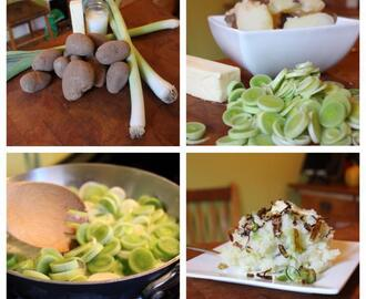 "FARM FRESH NOW! installment #10: All About LEEKS and a ""Leek Champ"" Recipe"