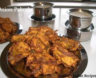 Onion pakoda | Indian Snacks