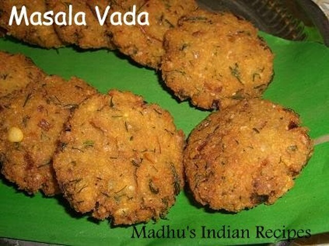 Masala Vada | Traditional South Indian Snack